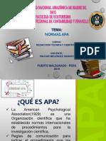 NORMAS APA - Redacción Técnica y Científica.ppt
