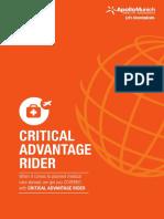 AMHI_Critiacal Advantage Rider