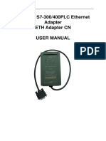 Eth Adapter Cn User Manual