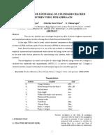EVALUATION OF J-INTEGRAL OF A STANDARD CRACKED SPECIMEN USING FEM APPROACH