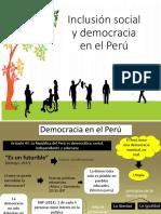 Inclusión Social y Democracia en El Perú