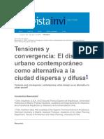 Tensiones y Divergencias Ciudad Difusa Articulo Chile