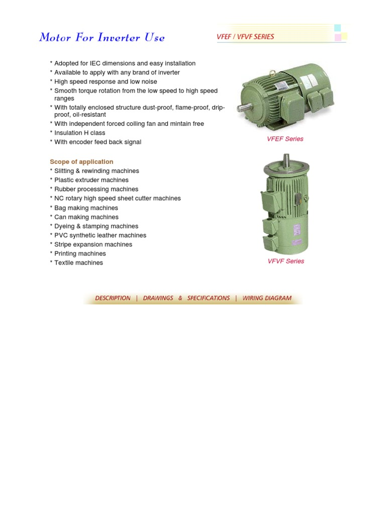 Motor With Encoder E Fan Engineering Tolerance Electric Power Iec Wiring Diagram