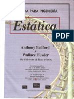 Mecánica Vectorial Para Ingeniería - Estática - Anthony Bedford, Wallace Fowler - Parte 1