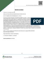Resolución Sintetizada 2424/2019