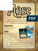 Muse - Rules Insert
