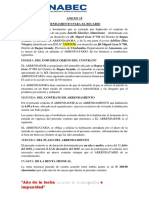 Contrato Cuarto Anexo 15(1)