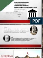 Niveles de Gobierno ( Teoria )
