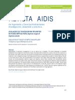 Artigo Revista AIDIS