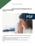 Sinusitis, Un Trastorno Frecuente _ Kern Pharma