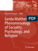 [Women in the History of Philosophy and Sciences 2] Antonio Calcagno - Gerda Walther's Phenomenology of Sociality, Psychology, And Religion (2018, Springer International Publishing)
