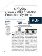 PREVENT PRODUCT RELEASE WITH PRESSURE PROTECTION SYSTEM