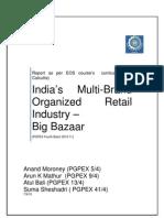 Multi Brand Retail - Big Bazaar