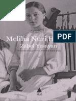 Zabel Yesayan - Meliha Nuri Hanım - Aras Yay