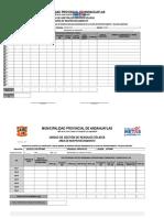Registro de Compactado y Pesaje y Furgon