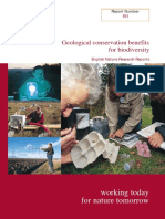 Geological conservation benefits for biodiversity