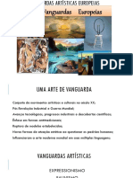 Artes - (Vanguardas Artísticas Europeias)