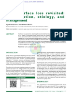 Tooth Surface Loss Revisited