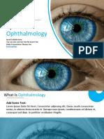 010 Biology Medical Eye Opthamologhy Google Slides Theme