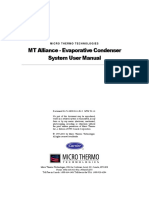 MT Alliance Evaporative Condenser Users Manual