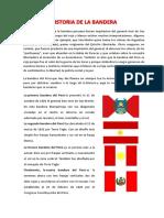 Historia de La Bandera
