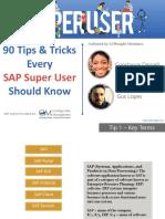 SAP Super User Should Know