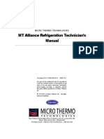 MT Alliance Refrigeration Technicians Manual