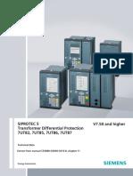 Manual Completo de Relés 87T SIPROTEC 5