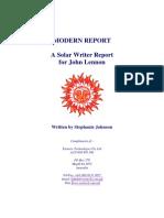 John Lennon Modern Report