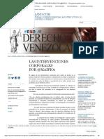 Las Intervenciones Corporales Por @Maipio1 « Derechovenezolano.com