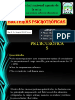Bacterias Psicotroficas