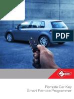 Remote Car Key and Smart Remote Programmer Brochure