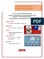 Sistemas Administrativos Perú - Chile