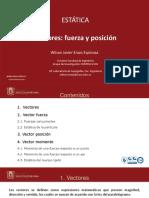 CLASE 2. Vector Fuerza y Vector Posición