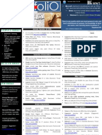 Newsfolio - November 2010 (Updates that matters)