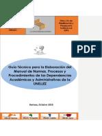 Guia Técnica de Normas y Procedimientos 2018, Aprobado por el Consejo Directivo.docx