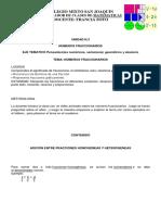 Adicion de Fracciones Homogeneas y Fracciones Heterogeneas