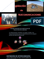 legislacion de telecomunicaciones en el Perú