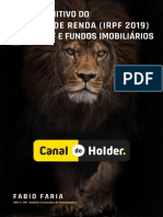 Guia IRPF 2019 Canal Do Holder