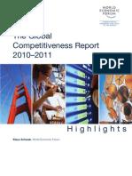 WEF GCR Highlights 2010-11
