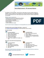 Guide MinimumTechnicalRequirements