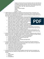 Questões Word e PowerPoint