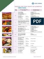 Dieta 1800 Invierno