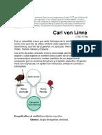 El Sistema de Linneo