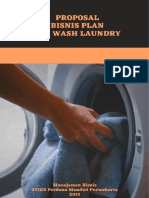 Proposal Usaha Mr. Laundry