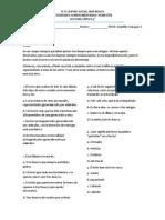 ACTIVIDADES COMPLEMETARIAS LECTURA