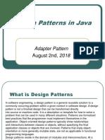 Adapter Design Patterns