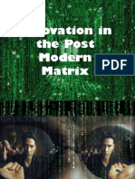 Innovation in the Post Modern Matrix - Khazanah
