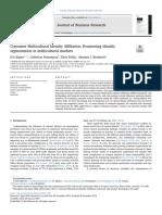 Consumer Multicultural Identity Affiliation- Reassessing Identity Segmentation in Multicultural Markets
