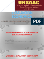 evaluacion economica